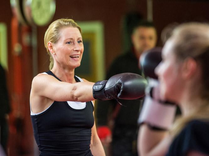 Kickboxen für Frauen in Köln