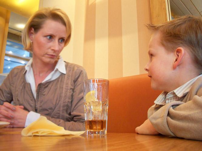 Wenn Kinder nicht das trinken, was gesund ist