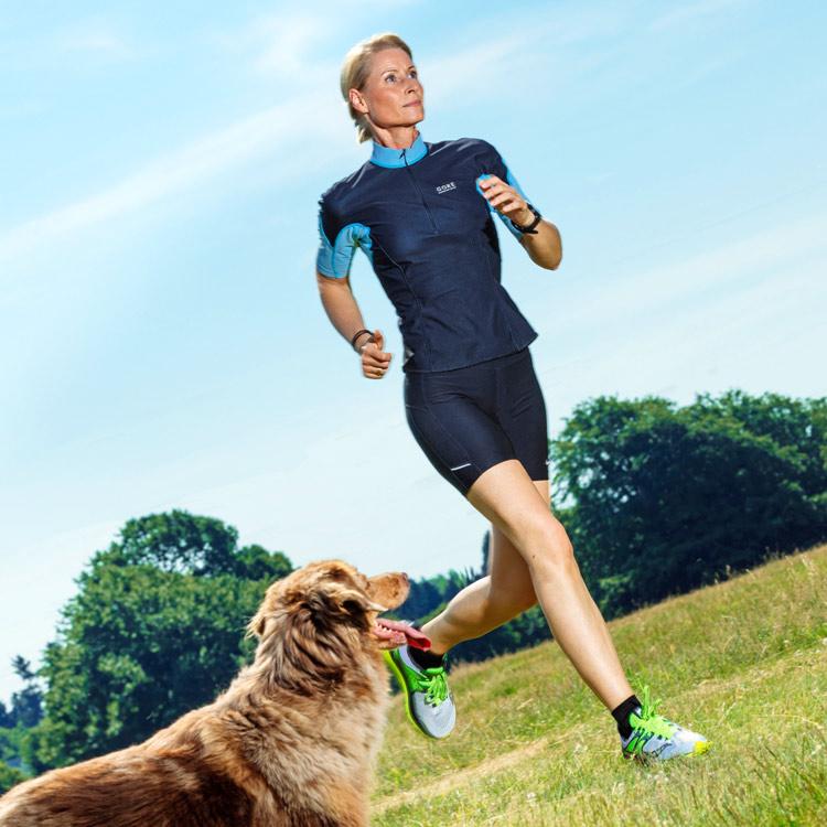 Personal Trainerin Susanne Baumbach ist auch Lauftrainerin in Köln