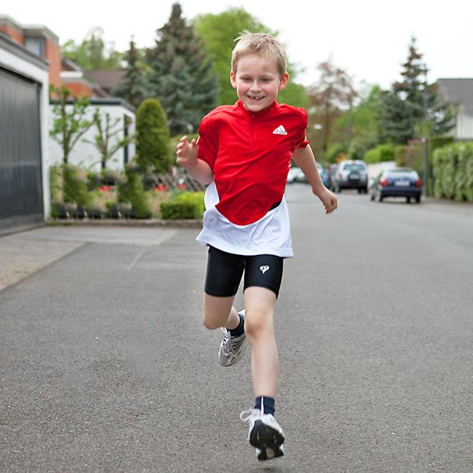 Personal Lauftraining für Kinder