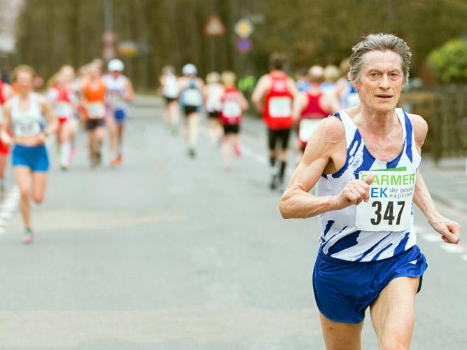 Erneuter Sieg des Läufers Winfried Schmidt